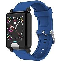 NMQQ Smart Watch 1.3in Mode PPG Blutdruck EKG-Herzfrequenz-Tester wasserdicht Männer und Frauen Smartwatch kann Android…