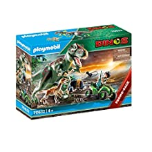 Playmobil 70632 Dinos T-Rex Attack with Raptor and Quad