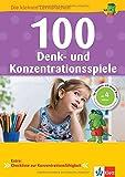 Klett 100 Denk- und Konzentrationsspiele: Die kleinen Lerndrachen