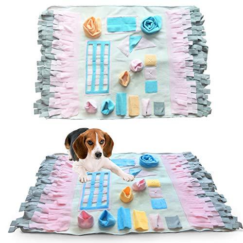 Musonic Snuffle Mat Nosework Decke Hund Training Mats Hund Fütterung Matte Pet Activity Mat Great for Stress Release -