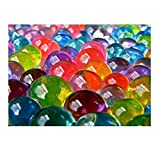 #6: Crystal Water Jelly Mud Soil Beads Balls for Flower Plant Decor - Mixed Color 50 Grams Approx. 2000