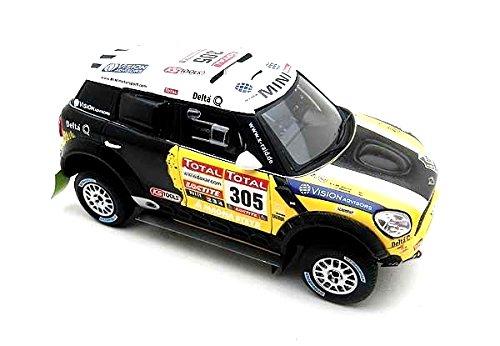 Truescale Miniatures - Tsm144343 - Véhicule Miniature - Modèle À L'échelle - Mini All4 Racing - Dakar 2012 - Echelle 1/43