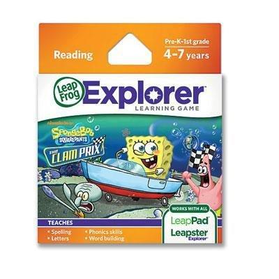 leapfrog-enterprises-leapfrog-explorer-spongebob-set-of-3