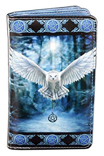 Portemonnaie mit magischer Eule   Awaken your Magic von Anne Stokes   Damen Geldbörse Fantasy Portmonee