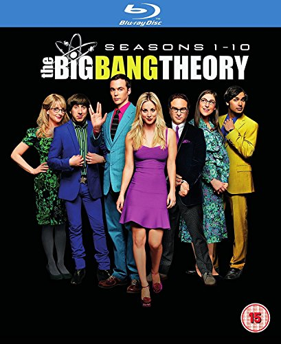 Big Bang Theory - Staffel / Seasons 1-10 [Blu-ray] [2017] - 1 Big-bang-dvd-staffel
