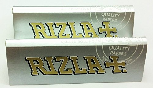 Rizla Silver Standard Rolling Paper, 50-Pack