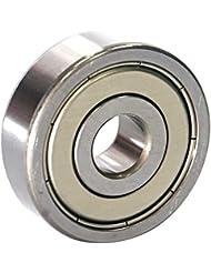 EZO - Roulement à billes à gorge profonde rangée simple en acier inoxydable 6300 ZZ (10x35x11)