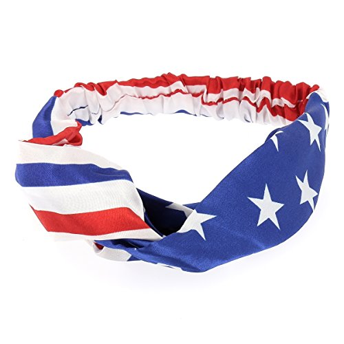 Haarband, Motiv: USA-Flagge