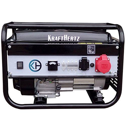 KraftHertz Generadores de corriente, Gasolina 3000W 1 & 3 fases