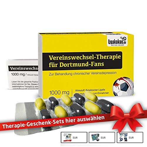 Fans by Ligakakao.de Dortmund 09 Geldbörse ist jetzt VEREINSWECHSEL-Therapie Portemonnaie Herren Geldbeutel Wallet Leder ()