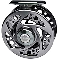 DLINF Carrete de pesca con mosca de metal, Hombre, FR07A 9/10., medium