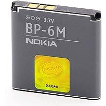 Nokia batería recargable Li-Ion, 1070 mAh BP-6M BULK - para N73, N77, N93, 6151, 6233, 6280, 9300, 9300i