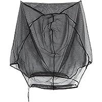VORCOOL Exterior Anti-Mosquito Head Net Face Neck Netz Malla para la Pesca Senderismo Camping Jardinería Negro