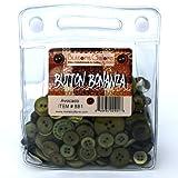 Button Bonanza .5Lb Assorted Buttons-White