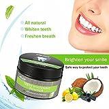 Poudre de Blanchiment des Dents au charbon actif LuckyFine Organiques Naturelles Activé Dentifrice Au Charbon De Bambou