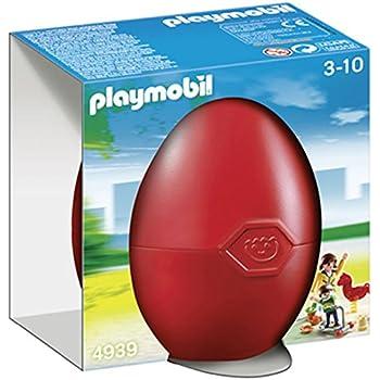 Playmobil - 4939 - Jeu de Construction - Maman avec Enfant et Aire de Jeux