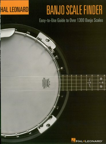 Banjo Scale Finder: Easy-to-Use Guide to Over 1,300 Banjo Scales (Bass Method) (English Edition)