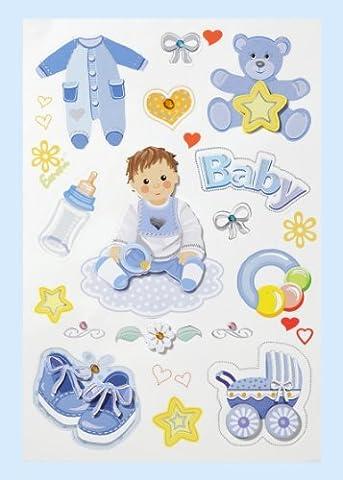 Autocollants CREApop® Baby-Boy