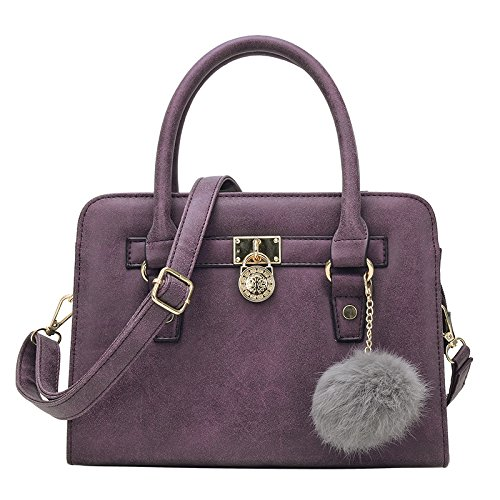 Mefly Frühling Fashion Trend Pack Schultertasche Mauve