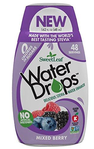 SweetLeaf - Water Drops Stevia Water Enhancer Mixed Berry - 1.62 fl. oz.