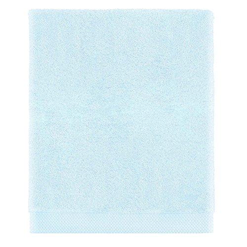 Descamps * La Mousseuse Towels * Luxury Egyptian Cotton Bath Sheet, Porcelaine (Soft Blue) 100x150cm -