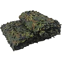 OUMIZHI Camouflage Net Camouflage Camoet Woodland Camo Camo For forest landscape, flame-retardant hunting army outdoor