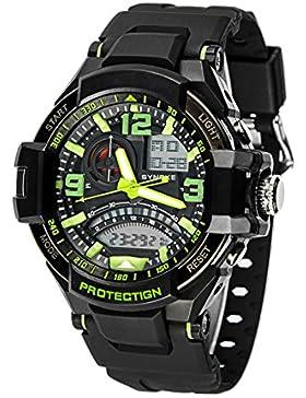 Männer's wasserdicht electronic watch outdoor sports multi-funktionelles bergsteigen-A