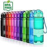 ZOUNICH Sport Leakproof Water Bottle Bpa Free Tritan Plastic Drinking Bottles 400ml/500ml/700ml/1L