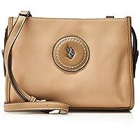 U.S. POLO ASSN. Womens Crossbody Bag, Beige