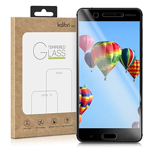 kalibri-Echtglas-Displayschutz-fr-Nokia-5-3D-Schutzglas-Full-Cover-Screen-Protector-mit-Rahmen-Glas-Folie-auch-fr-gewlbtes-Display-in-Schwarz