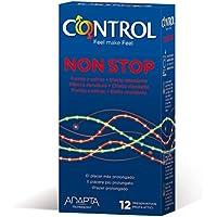 Control Non-Stop - 12 gerippt/genoppte Kondome für längere Liebe preisvergleich bei billige-tabletten.eu