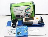 HNCS Handheld Portable EKG-Gerät,Elektrokardiogramm Herz Monitor PC-180B Rapid ECG Detection Data Recorder, Software and USB Cable