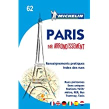 Michelin Map Paris by Arrondissements (saddle-stitched) No. 62 (Maps/City (Michelin)) by Michelin (2010-04-15)