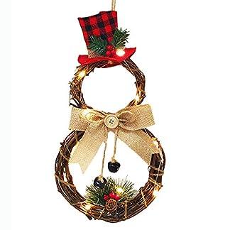 Corona De Navidad Colgante De Jardín Coronas Decoración del Árbol De Puerta Colgando Adornos De Granja Estreno De Una Casa del Regalo De La Decoración Puntales