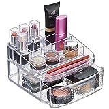 mDesign Kosmetik-Organizer Ablage für Waschtisch Schrank zum Aufbewahren von Makeup