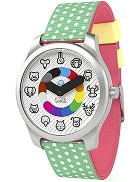 twistiti–Zeigt Kinder pädagogische Tiere ab 3Jahre–Armband Wassermelone