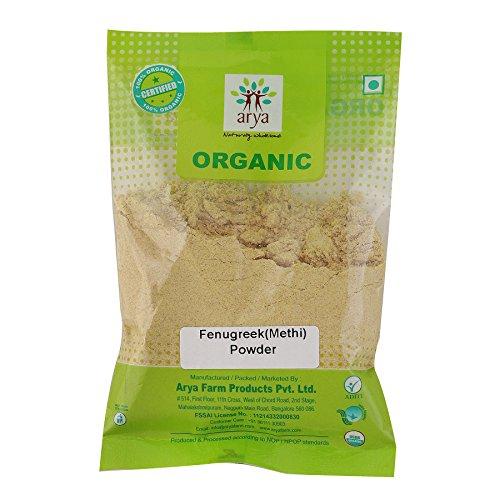 Arya Farm Organic Fenugreek Powder, 100g