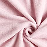 Fabulous Fabrics Antipilling Fleece - rosé - Meterware ab