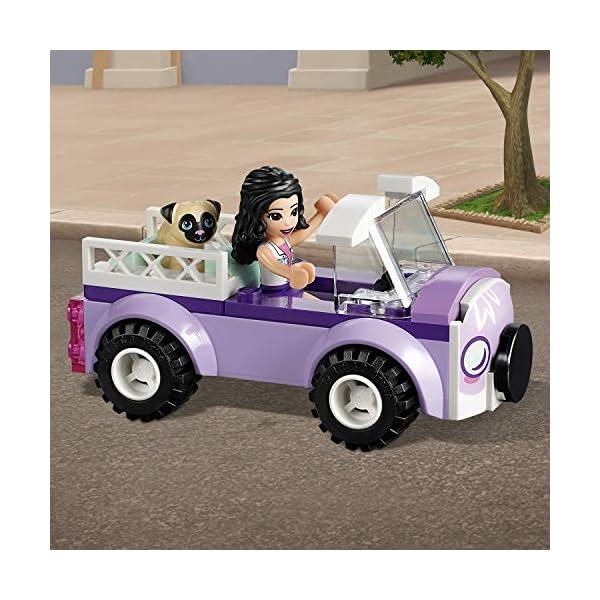 LEGO - Friends La clinica veterinaria mobile di Emma, con Mini-doll e Cane Inclusi, Kit Giocattolo per Bambini, Idea… 5 spesavip