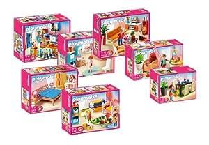 Playmobil 5329 5330 5331 5332 5333 5334 5335 - Playmobil wohnzimmer 5332 ...