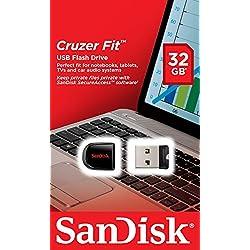 SanDisk Cruzer Fit Memoria USB de 32 GB