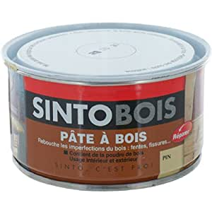 sinto sintobois pate a bois pin 250g bricolage. Black Bedroom Furniture Sets. Home Design Ideas