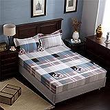 Comeyang Housse de Matelas de lit, Choix pour la Maison,lit Double lit Simple, Housse...