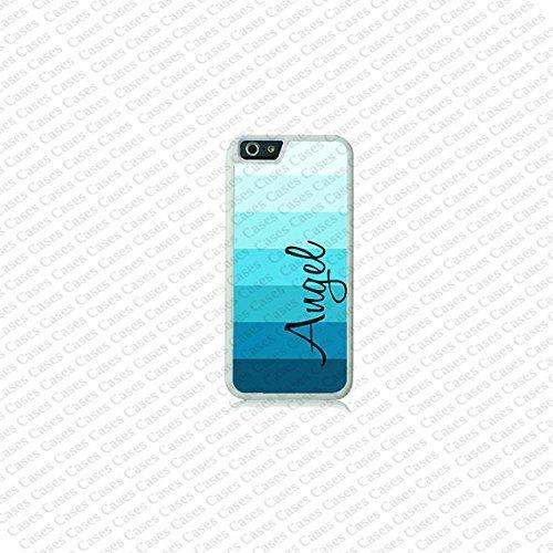 krezy Étui à rayures iPhone 6Plus Coque Monogramme, MONOGRAMME, Custom pour iPhone 6Plus iPhone 614cm cas, Coque iPhone 6Plus Coque Monogramme