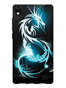 TREECASE Designer Printed Soft Silicone Back Case Cover For Reliance Jio Lyf Water 6
