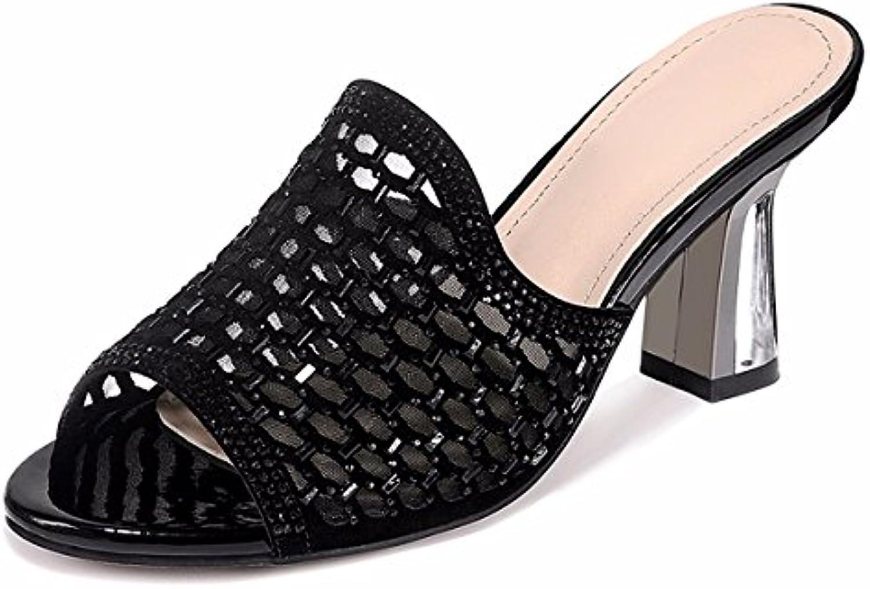des chaussures de femmes / pantoufles gtvernh gtvernh gtvernh poissons sauvages femmes été plein air remorquage bouche 8cm talon haut b07dhfzq6d parent cool 78779c