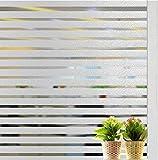 Lifetree 105 Selbstklebend ohne Klebstoff Fensterfolie 2D Statisch Folie Sichtschutzfolie 45*200CM