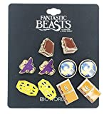 Fantastic Beasts And Where To Find Them 5-Pack Earring Set