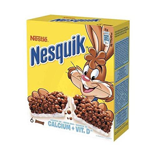 Nesquik 6 barres céréales et lait 150g - ( Prix Unitaire ) - Envoi Rapide Et Soignée
