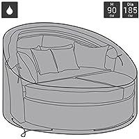 Bentley Garden - Funda de poliéster de cama de día de ratán para jardín o patio